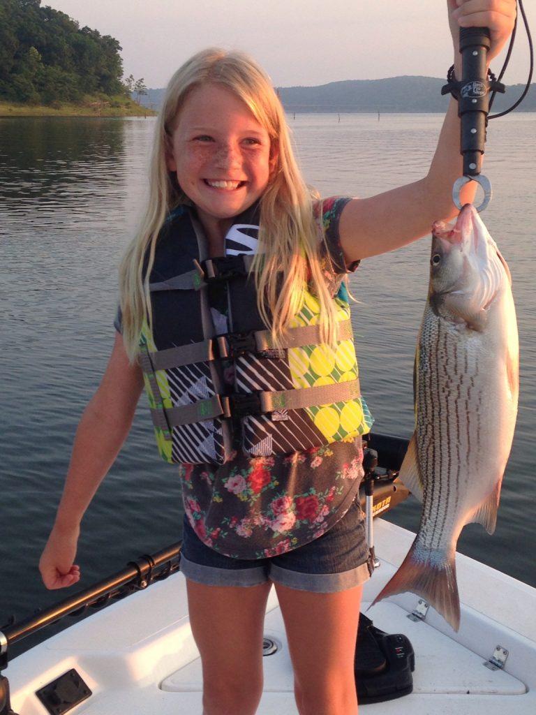Truman Lake Fishing kids